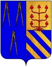 Promptuaire armorial et general, etc.Jean Boisseau · 1657 - Volume 2 – Page 96