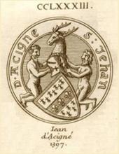 ACIGNÉ (d') Jean II ~1305