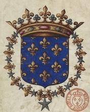 Blason de Louis VI Le Gros.