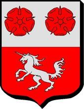 variante du blason adopté par la famille Fernet, branche de Georges (x la Roussière)