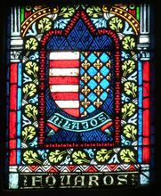 Vitrail de la Cathédrale Szent Mathias