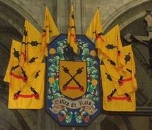 """Baron de Rais (Pays de Retz, Loire Atlantique)  dit """"Barbe Bleue"""".  Compagnon d'armes de Jeanne D'ARC."""