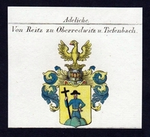 The (potentially) true coat of arms of German Reitz's.