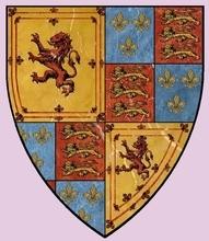 Armes de Marie STUART Reine de France