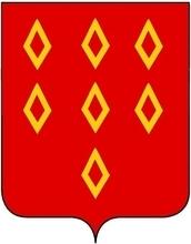 D'après le vicomte P-M du Breil de Pontbriand mais il s'agit peut-être d'une brisure portée par Renaud de Montauban, second fils d'Olivier II et vivant vers 1340.