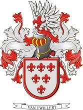 Familiewapen van Twillert sinds ca 1475