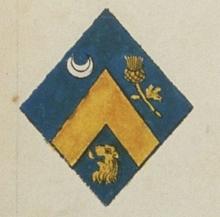Armorial d'Hozier Paris; armes de Geneviève Champhuon de la Saulaye
