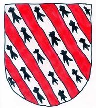 """Cet dessin est copié de celui représenté dans le livre Armorial de Navarra, celui de """"El señor de beloriz"""" (c'est l'ancien nom de Saint-Martin-d'Arberoue)"""