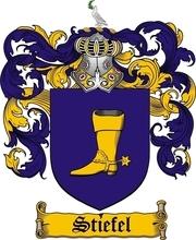 Dieses Familienwappen wurde auf Wunsch des Stifters Erhardt Stiefel kreiert von Family Crests and Coats of Arms, UK -  https://www.houseofnames.com/category/Coat+of+Arms Es darf von allen Familien gleichen Namens verwendet werden. Eine Kontaktaufnahme mit mir würde mich freuen!