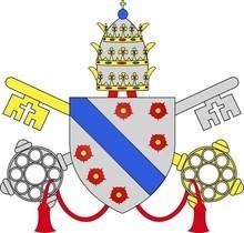 Armoiries des papes Clément VI et Grégoire XI