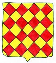 La baronnie de TARDETS, qui englobait huit paroisses de Haute-Soule, dont Tardets, Alos et Abense-de-Haut, était possédée, dès la première moitié du XIIIe siècle, par une branche cadette de la maison vicomtale de Marsan, qui en garda les armes d'origine. Armorial du Pays Basque. I. La Soule. Jean-Marie Régnier.