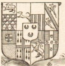 Honoré COURTIN  Comte de Mesnuls d'après  son portrait par Robert Nanteuil (1623-1678)