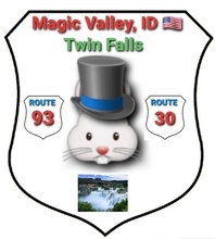 Conglomerate of Counties of Idaho, USA— main city: Twin Falls.
