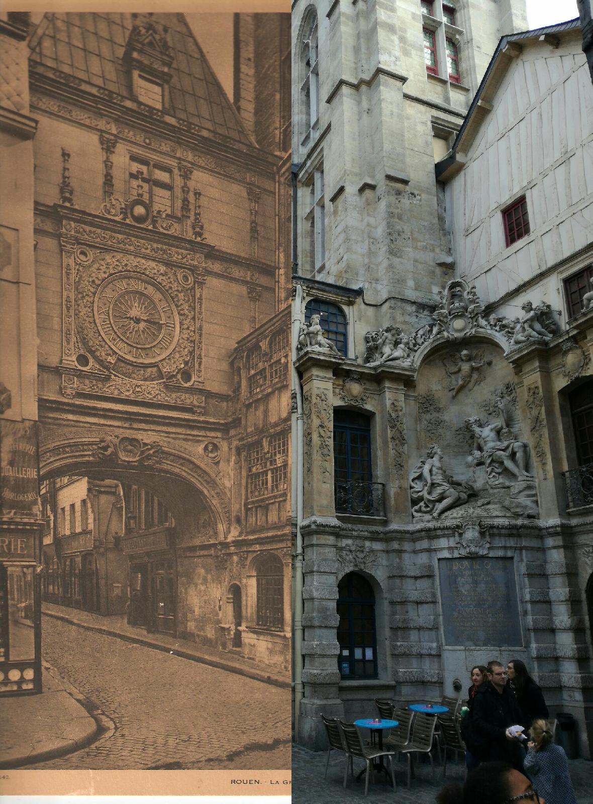Rouen - La Grosse Horloge de ROUEN