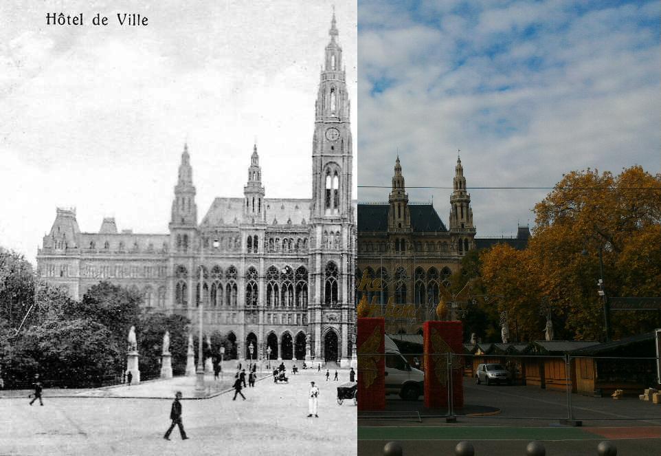 Wien - L'Hotel de Ville (Rathaus)
